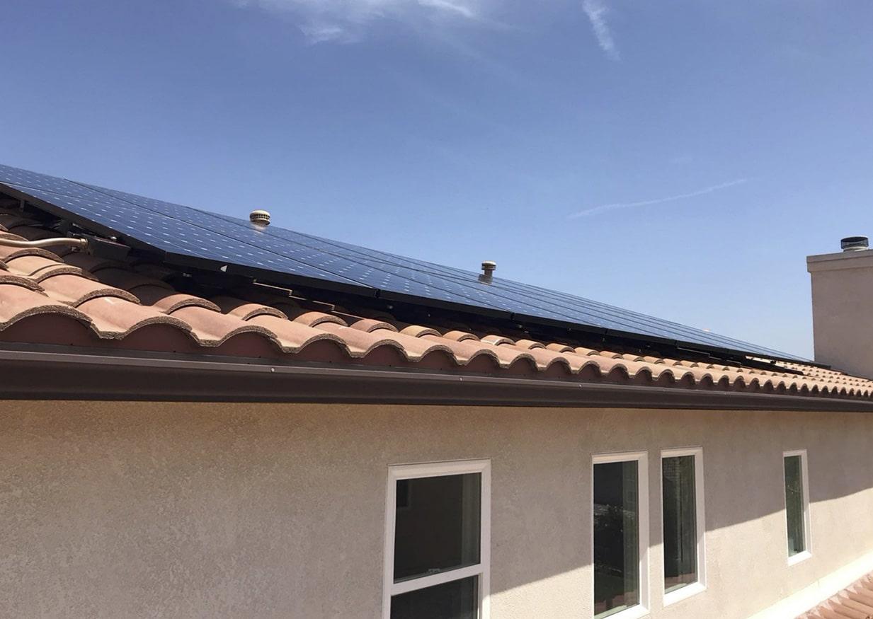 Hyperion SunPower Solar Installation