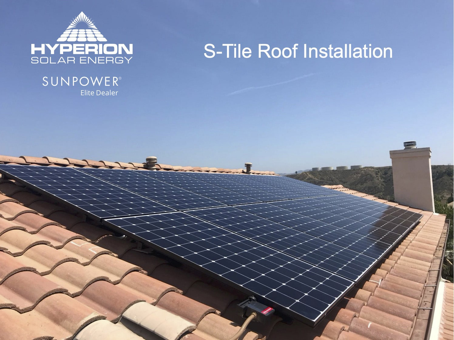 S Tile Roof Installation
