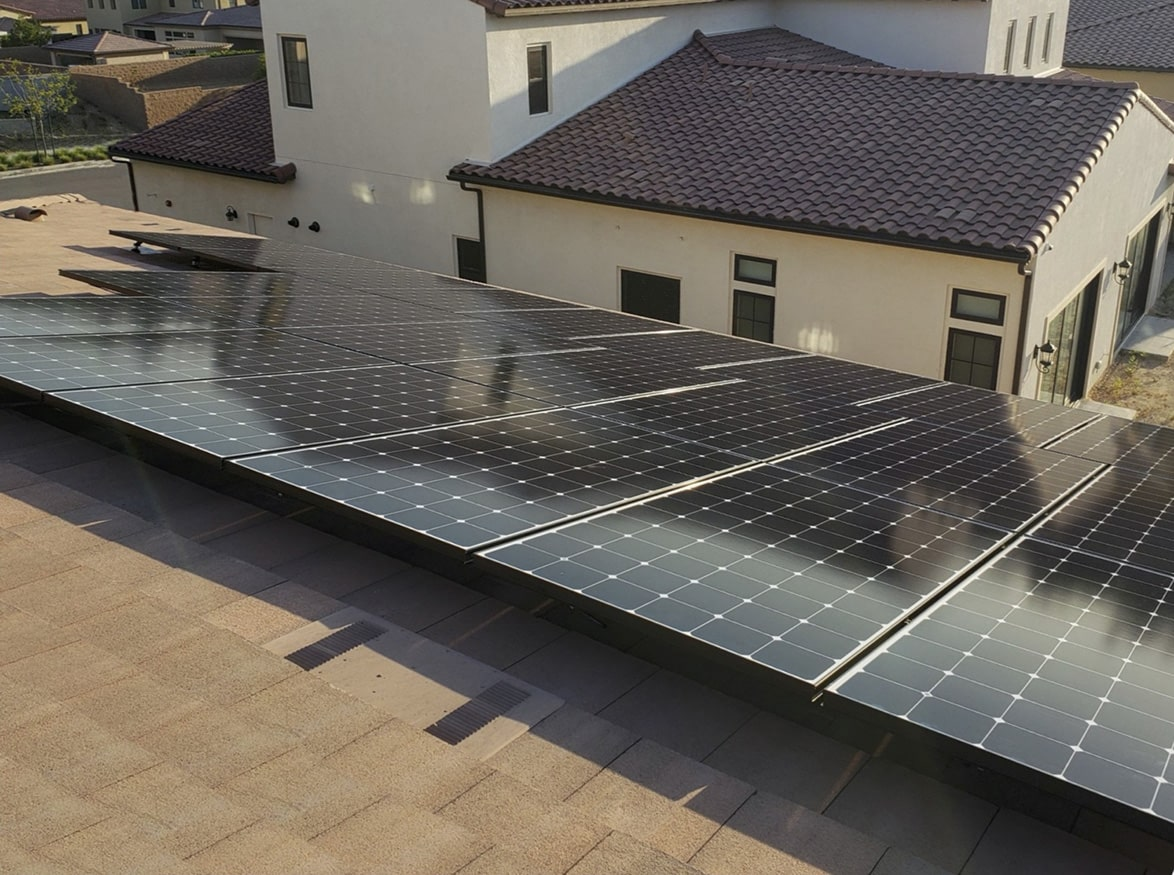 Solar Roof Installation SunPower